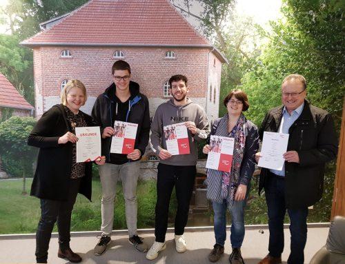 Krüger-Team gewinnt Planspiel